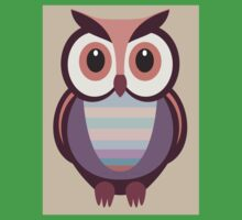 WIDE EYED OWL One Piece - Short Sleeve