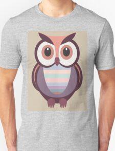 WIDE EYED OWL Unisex T-Shirt