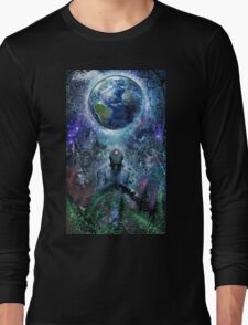 Gratitude For The Earth And Sky, 2015 Long Sleeve T-Shirt