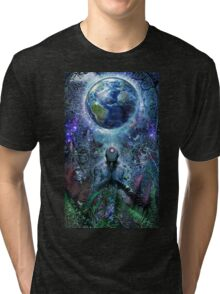 Gratitude For The Earth And Sky, 2015 Tri-blend T-Shirt