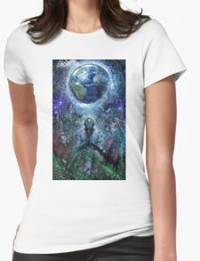 Gratitude For The Earth And Sky, 2015 Womens Fitted T-Shirt