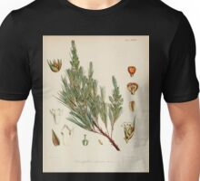 The botany of the Antarctic voyage of H M  discovery ships Erebus and Terror in the Years 1839 1843 Joseph Dalton Hooker V1 024 Unisex T-Shirt