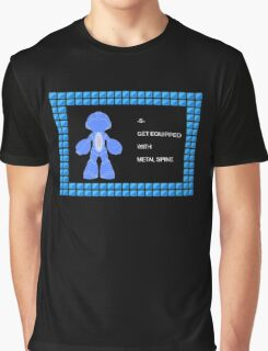 Mega Man Spinal Fusion - Get Equipped With Graphic T-Shirt