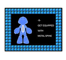 Mega Man Spinal Fusion - Get Equipped With Photographic Print