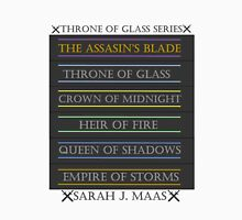 Throne of Glass spines Unisex T-Shirt