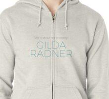 Gilda Radner Zipped Hoodie