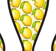 Lululemon Lemon Logo Sticker