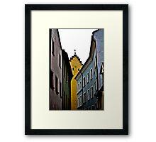 Guilded Framed Print