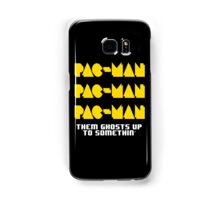PACMAN/Jumpman White Samsung Galaxy Case/Skin