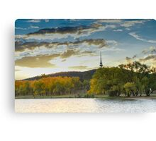Autumn in The Capital Canvas Print