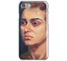 Portrait of Natalie iPhone Case/Skin