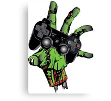 Zombie gamer Canvas Print