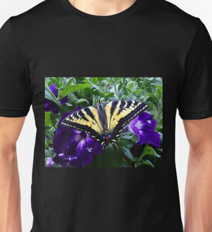 Swallowtail butterfly just emerged from it's chrysalis! Unisex T-Shirt