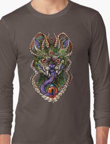 Vibrant Hellhound Long Sleeve T-Shirt