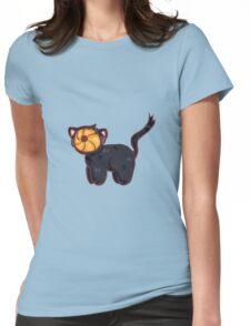 tobi cat Womens Fitted T-Shirt