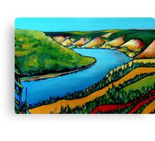 Peace Hills Canvas Print