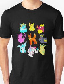 Eeveelutions Ring  T-Shirt