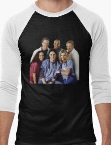 Scrubs Cast (early years) Men's Baseball ¾ T-Shirt
