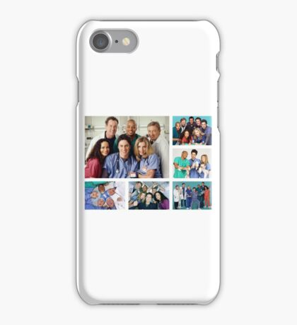 Scrubs Cast Photoshoot Collage iPhone Case/Skin