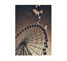 OCMD Ferris Wheel I Art Print