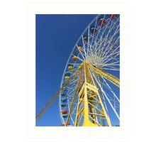 OCMD Ferris Wheel II Art Print