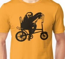 Sloth Riding a Bike Unisex T-Shirt