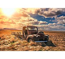 GMC Bacon Photographic Print