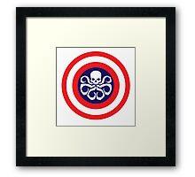 all hail captain hydra Framed Print