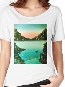 Birds of The Sea by Leslie Berg Women's Relaxed Fit T-Shirt
