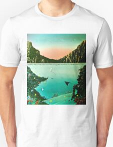 Birds of The Sea by Leslie Berg Unisex T-Shirt