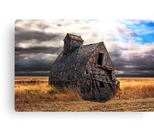Grain Shed Canvas Print