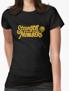 Golden State Warriors | Strength In Numbers | 2016 Womens Fitted T-Shirt