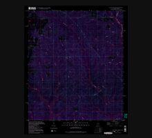 USGS TOPO Map Alabama AL Dogwood Creek 303685 1994 24000 Inverted Unisex T-Shirt