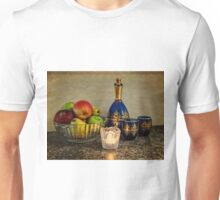 Bowl of Fruit, Some Wine and A Candle Unisex T-Shirt