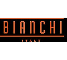 Bianchi Vintage Bicycles Italy Photographic Print