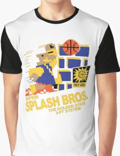 Super Splash Brothers | Golden State Warriors | 2016 Graphic T-Shirt