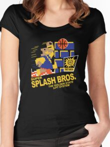 Super Splash Brothers | Golden State Warriors | 2016 Women's Fitted Scoop T-Shirt