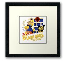 Super Splash Brothers | Golden State Warriors | 2016 Framed Print