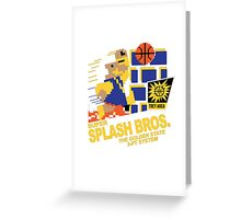 Super Splash Brothers | Golden State Warriors | 2016 Greeting Card