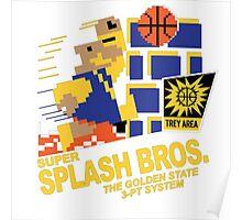 Super Splash Brothers | Golden State Warriors | 2016 Poster