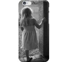Waiting for the Rain to End iPhone Case/Skin