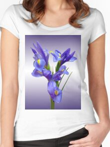 Iris Women's Fitted Scoop T-Shirt