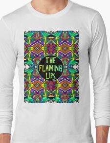 The Flaming Lips - Psychedelic Pattern 1 Long Sleeve T-Shirt