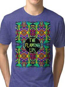 The Flaming Lips - Psychedelic Pattern 1 Tri-blend T-Shirt