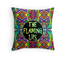 The Flaming Lips - Psychedelic Pattern 1 Throw Pillow