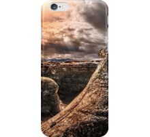 Writing on Stone Hoodoos iPhone Case/Skin