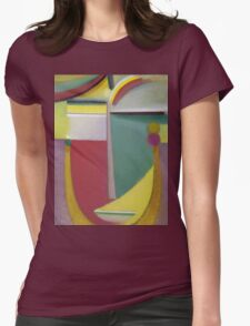 Vintage famous art - Alexei Jawlensky  - Abstract Head Inner Vision Womens Fitted T-Shirt