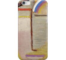Vintage famous art - Alexei Jawlensky  - Abstract Head Composition No 2  Winter  iPhone Case/Skin
