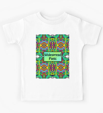 WP - Widespread Panic - Psychedelic Pattern 2 Kids Tee