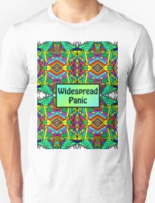 WP - Widespread Panic - Psychedelic Pattern 2 Unisex T-Shirt